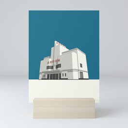 ODEON Balham Mini Art Print