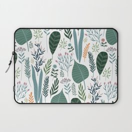 Early Spring Thaw In The Flower Garden Pattern Laptop Sleeve