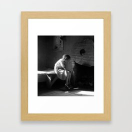 Dorothea Lange Resettled Farm Child New Mexico Framed Art Print