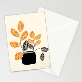 Apartment Plant Stationery Cards
