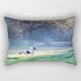 Chasing The Morning Light Rectangular Pillow