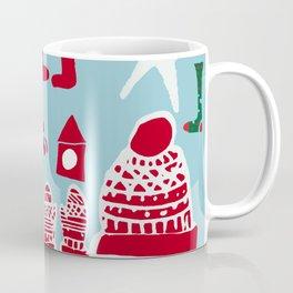 winter gear blue Coffee Mug