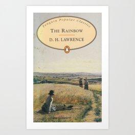 D H Lawrence - The Rainbow Art Print