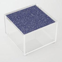 Blue Glitter I Acrylic Box
