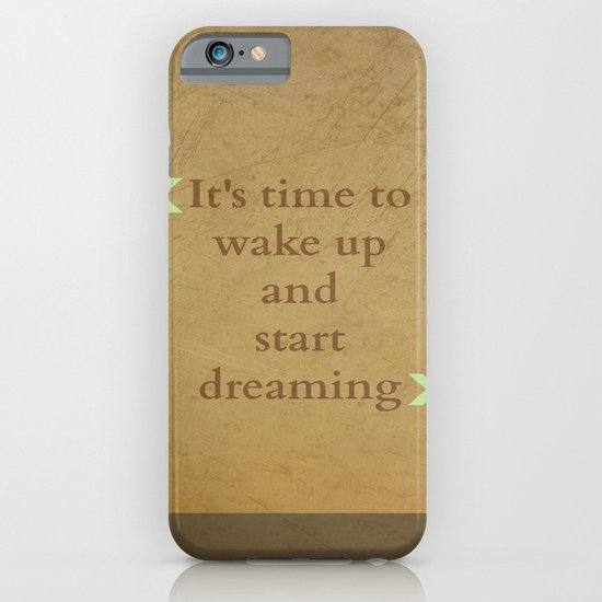 It's time to wake up... iPhone & iPod Case
