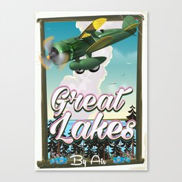 The Great Lakes Canvas Print