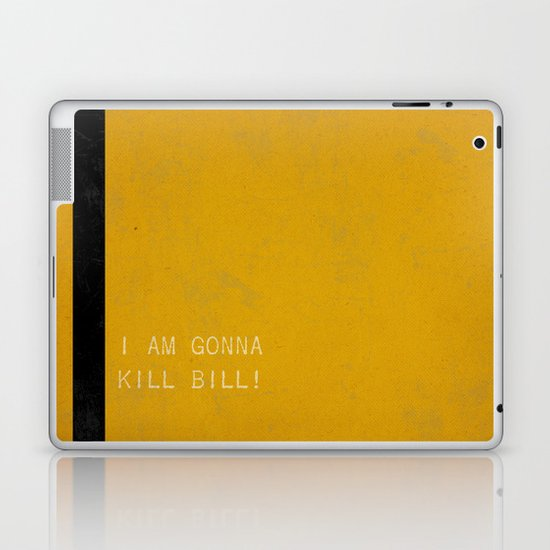 Kill Bill Laptop & iPad Skin
