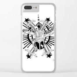Attente Pour Ton Amour Clear iPhone Case