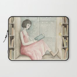 The Book Lover Laptop Sleeve
