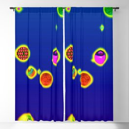 Constellations virgo Blackout Curtain