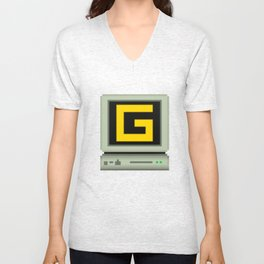 G-Sync Computer Logo VAR.2 Unisex V-Neck