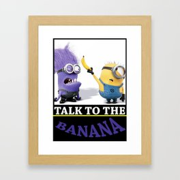 La Banana Framed Art Print