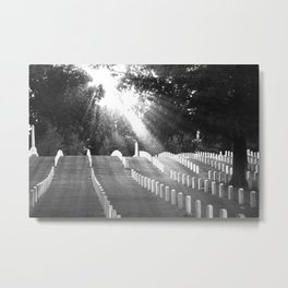 The Unknown Soldiers Metal Print
