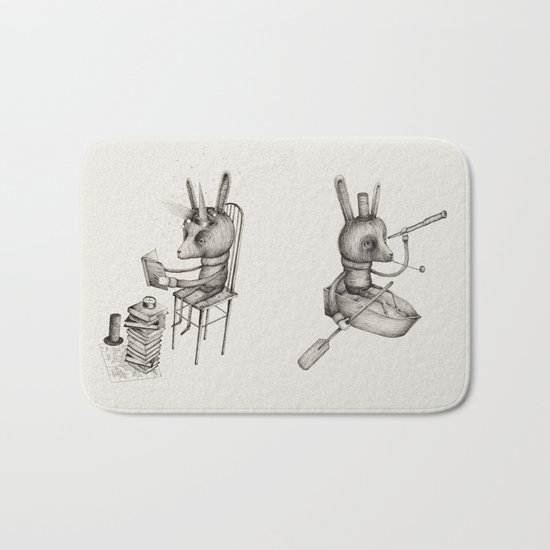 'Dreams Of Leaving' (Part 1 & 2) Bath Mat