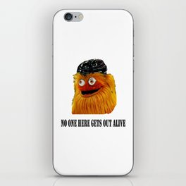Gritty Mascot iPhone Skin