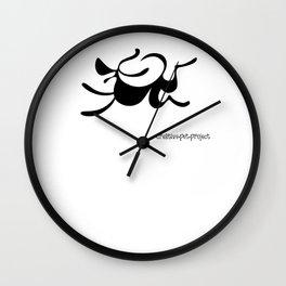 Dog 4 Wall Clock