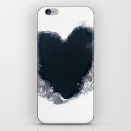 Frozen heart iPhone Skin