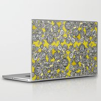 circles Laptop & iPad Skins featuring Circles by Valentina Harper