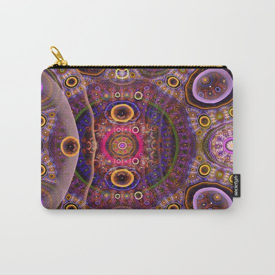 Groovy tribal colourful patterns Carry-All Pouch
