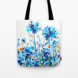 thickets of cornflowers Tote Bag
