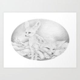 Aetherios   Slumber Art Print