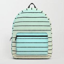 beach stripe Backpack