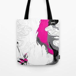 The Smoker #3 Tote Bag