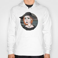 ginger Hoodies featuring Ginger by Julia Kolos