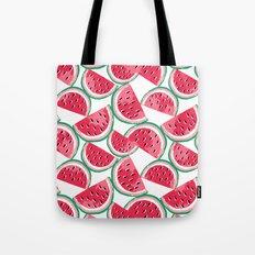 watermelon white Tote Bag