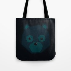 Polygon Bear Tote Bag