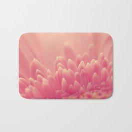 Pink Gerbera Daisy Bath Mat