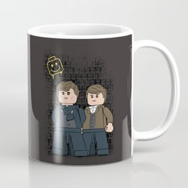 Solving Crimes  (Lego Sherlock Holmes) Coffee Mug