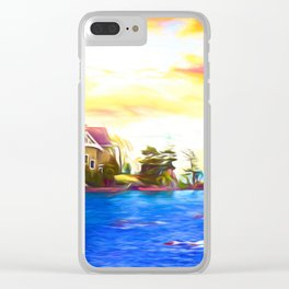 Undiscovered Clear iPhone Case