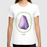 crystal T-shirts featuring Crystal by Nuria Muro