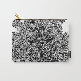 Gnarled Oak Tree Carry-All Pouch