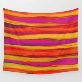 Tropical Beach Sunset Paradise Wall Tapestry