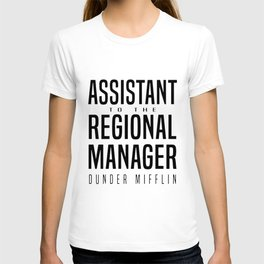 assistant to the regional manager girlfriend T-shirt