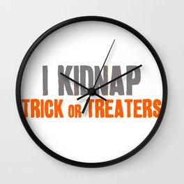 KIDNAP TRICK Wall Clock