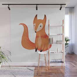 Oh my foxyness Wall Mural