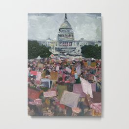 Women's March Metal Print