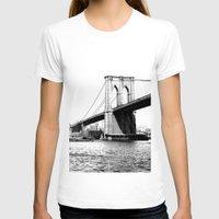 brooklyn bridge T-shirts featuring Brooklyn Bridge by Amy Giacomelli