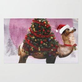 Santa Camel Rug