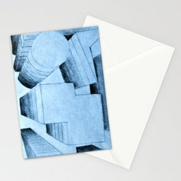 bird's-eye view Stationery Cards