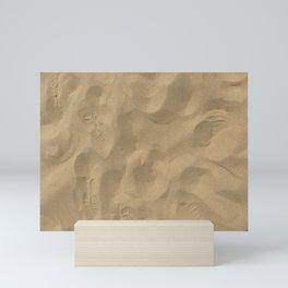 Sand at Stockton Sand Dunes, Port Stephens, Australia Mini Art Print