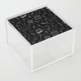 Witchy pattern Acrylic Box