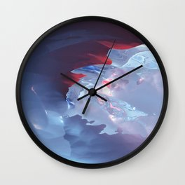 Below the cold surface Wall Clock