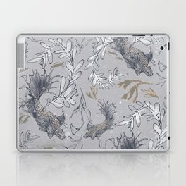 Goldfish, make a wish! Laptop & iPad Skin