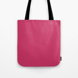 From The Crayon Box – Jazzberry Jam - Bright Pink Purple Solid Color Tote Bag