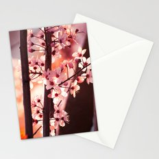 Pink Wind Stationery Cards