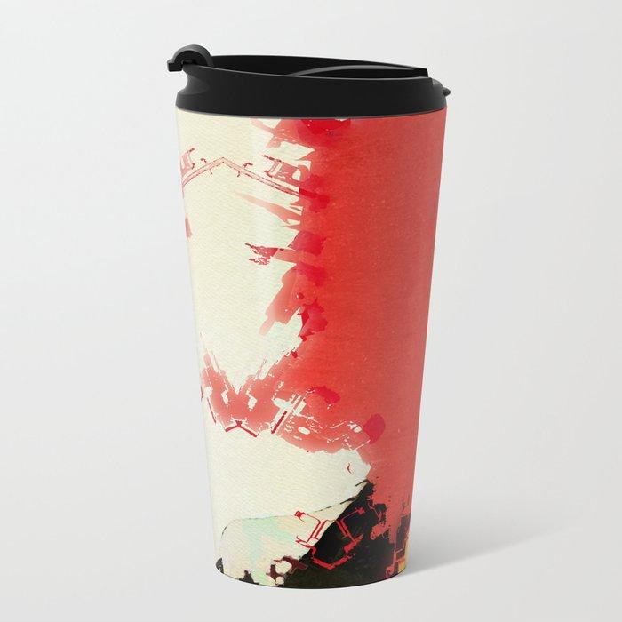 With regards (alt) Metal Travel Mug